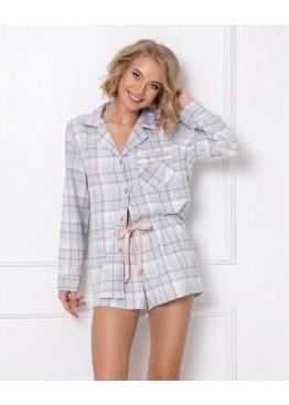 Пижама с шортами AMALIA св.серый, Aruelle (Литва)