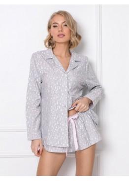 Комплект с шортами ARIA св.серый, Aruelle (Литва)