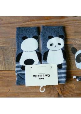 """Набор носков 10519 """"Панда-теплые"""" 2 пары,Caramella(Китай)"""