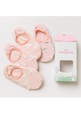 """Набор носков 56634 """"Животные-2""""розовый 4 пары,Caramella(Китай)"""
