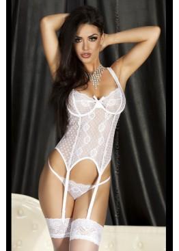 Корсет 3462 corset белый,ChiliRose(Польша)