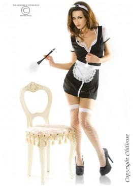 Комплект 3351 Maid Set черный+белый,ChiliRose(Польша)
