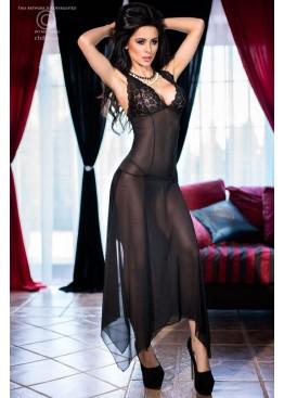 Платье 4146 черный,ChiliRose(Польша)