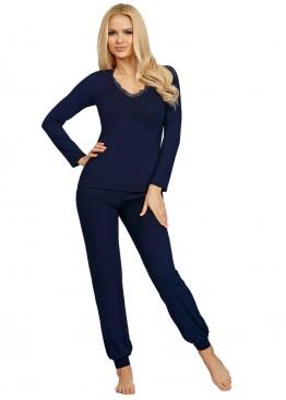 Пижама с брюками Blanka т.синий, Donna (Польша)