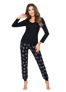 Пижама с брюками MIKA черный, Donna (Польша)