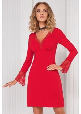 Сорочка Stella II красный,Donna II(Польша)
