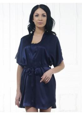 Халат 609 синий,Felisse(Россия)