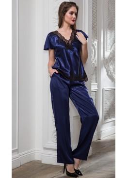 Комплект 3186 Isabella синий+черный,Mia-Amore (Италия)