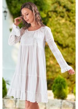 """Платье 1587 """"California"""" белый, Mia-Amore (Италия)"""