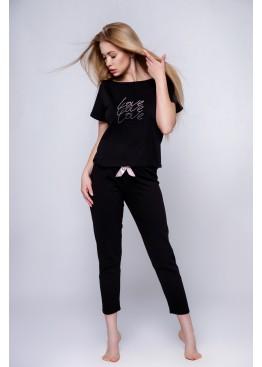 Пижама с брюками Catalina черный, Sensis (Польша)