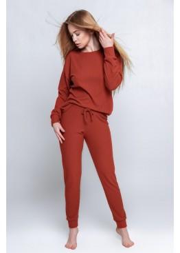 Пижама с брюками ORANGE WOMAN терракотовый, Sensis (Польша)