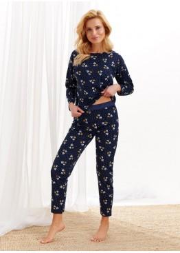 Пижама с брюками 1196-S20/21 Jurata т.синий, Taro (Польша)