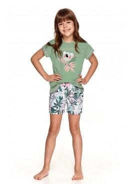 Пижама с шортами 2200/2201 SS21 Hania зеленый, Taro (Польша)