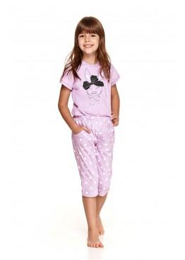 Пижама с бриджами 2213/2214 SS21 Beki лиловый, Taro (Польша)