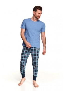 Пижама с брюками 2519 SS21 GRZEGORZ синий, Taro (Польша)