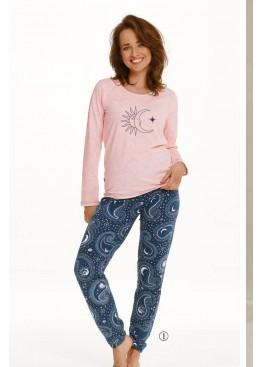 Пижама с брюками 2563 21/22 GAJA св.розовый+синий, Taro (Польша)