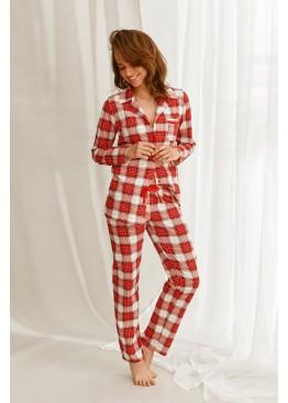 Пижама с брюками 2584 21/22 CELINE красный+белый, Taro (Польша)
