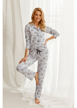 Пижама с брюками 2584 21/22 CELINE св.серый, Taro (Польша)