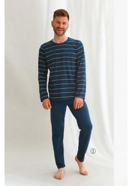 Пижама с брюками 2639/2640 21/22 HARRY т.синий, Taro (Польша)