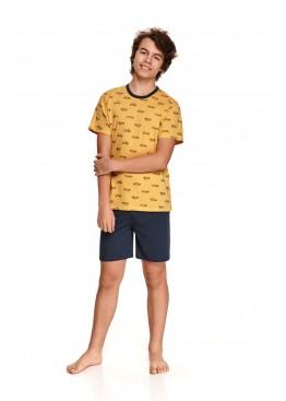 Пижама 344 SS21 Max желтый+синий, Taro (Польша)