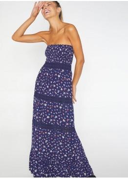 Платье пляжное 85599 т.синий,Ysabel Mora(Испания)