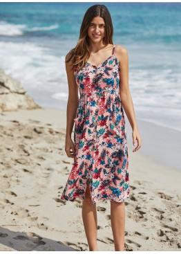 Платье пляжное 85640 мульти,Ysabel Mora(Испания)