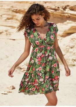 Платье пляжное 85684 мульти,Ysabel Mora(Испания)