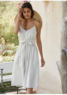 Платье пляжное 85703 бежевый,Ysabel Mora(Испания)