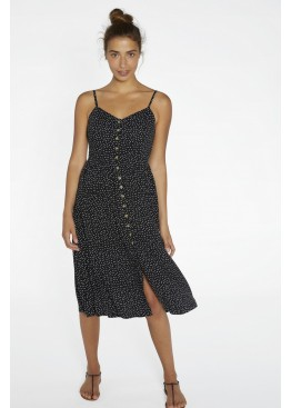 Платье пляжное 85716 черный+белый, Ysabel Mora (Испания)