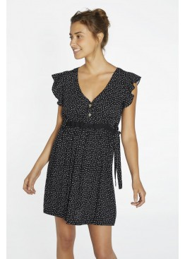 Платье пляжное 85717 черный+белый, Ysabel Mora (Испания)