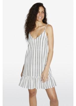 Платье пляжное 85820 белый+серый, Ysabel Mora (Испания)