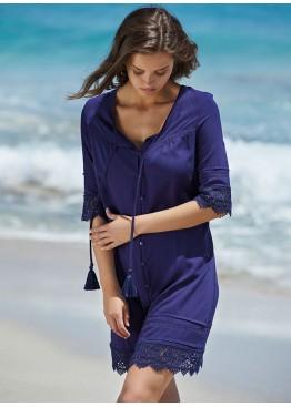 Рубашка пляжная 85670 т.синий,Ysabel Mora(Испания)